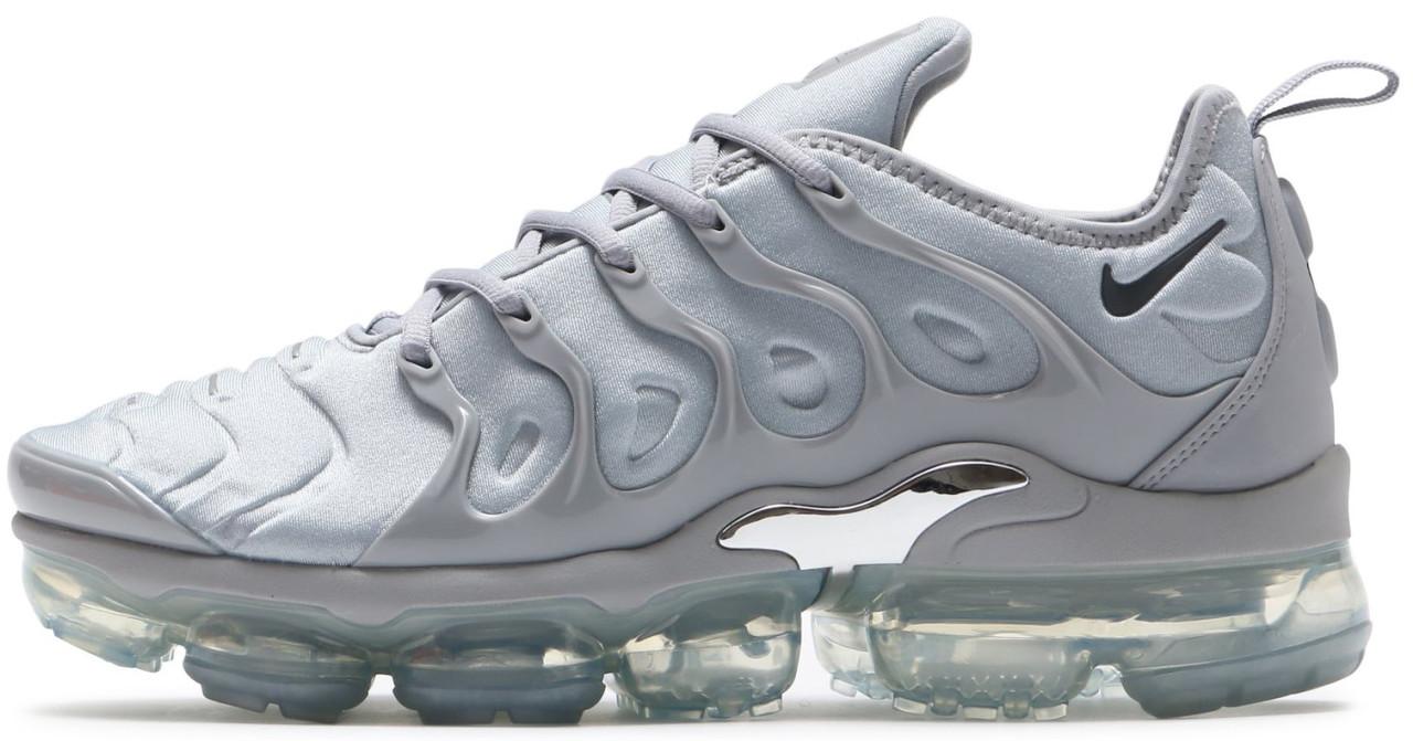Мужские кроссовки Nike Air Vapormax Plus (Найк ТН) серые