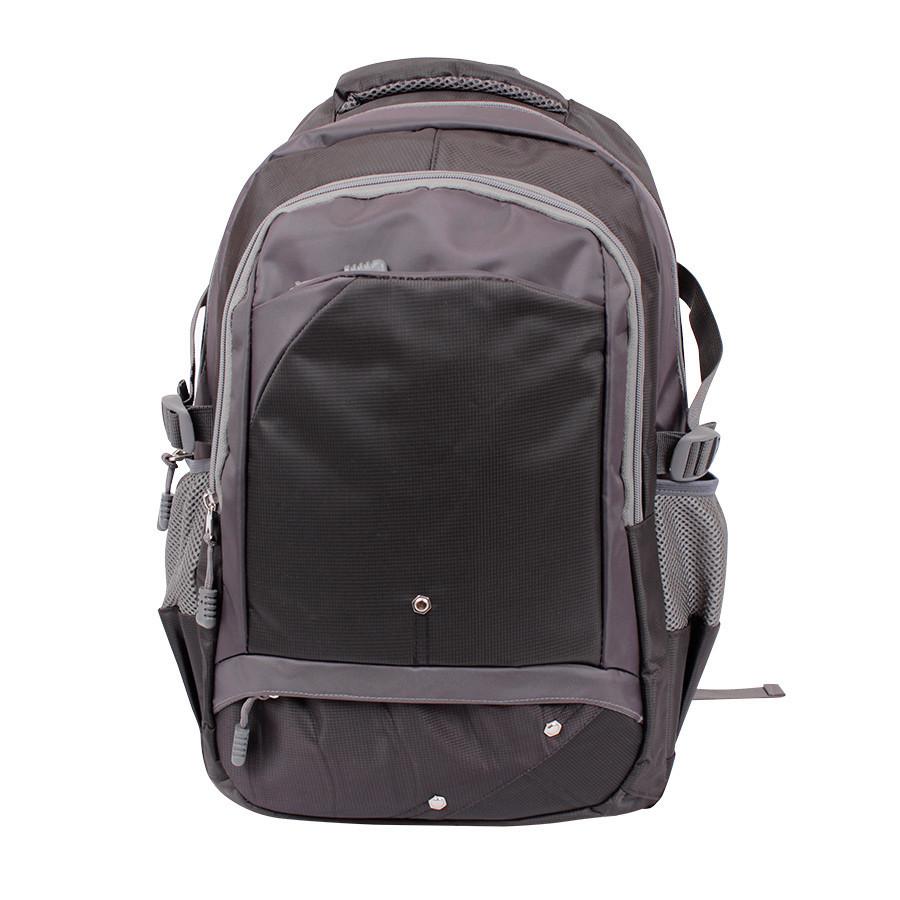 Дорожний рюкзак серый
