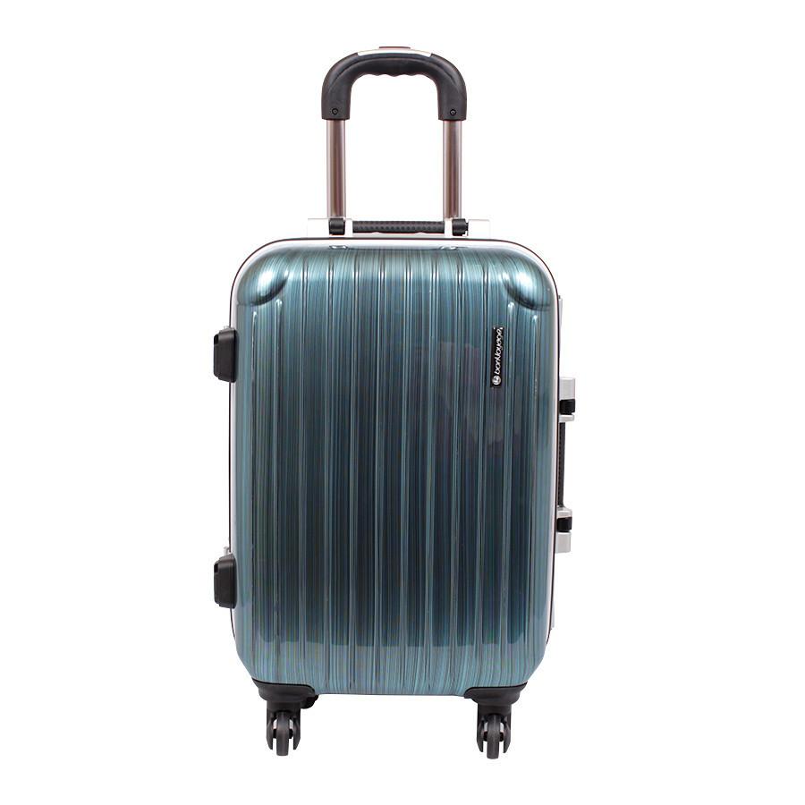 Дорожний чемодан бирюзовый