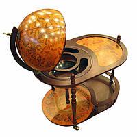 Глобус бар со столешницей для напитков (сфера 42 см)
