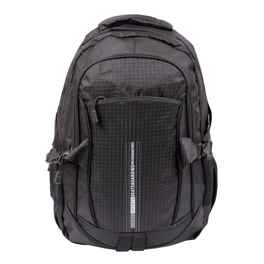 Дорожний рюкзак черного цвета