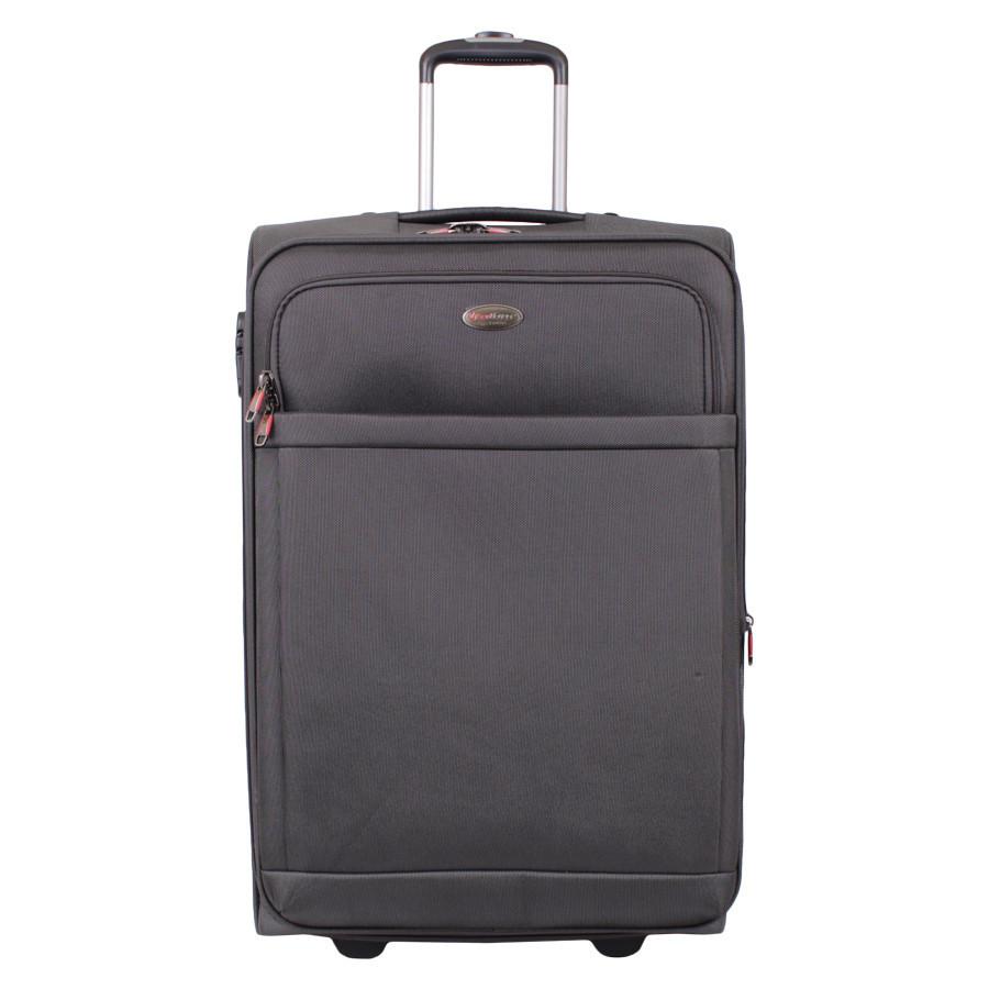 Черный дорожний чемодан с замком