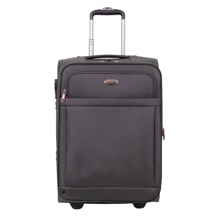Дорожний чемодан с замком чернего цвета