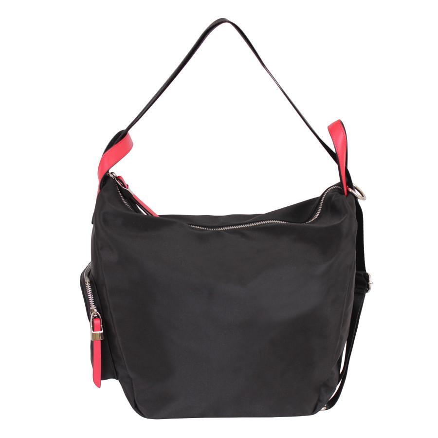 Спортивная сумка-рюкзак черного цвета