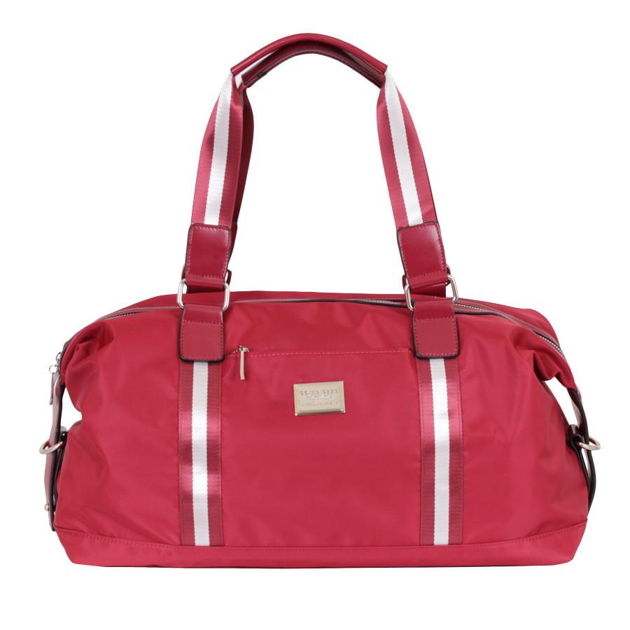 Дорожная красная сумка