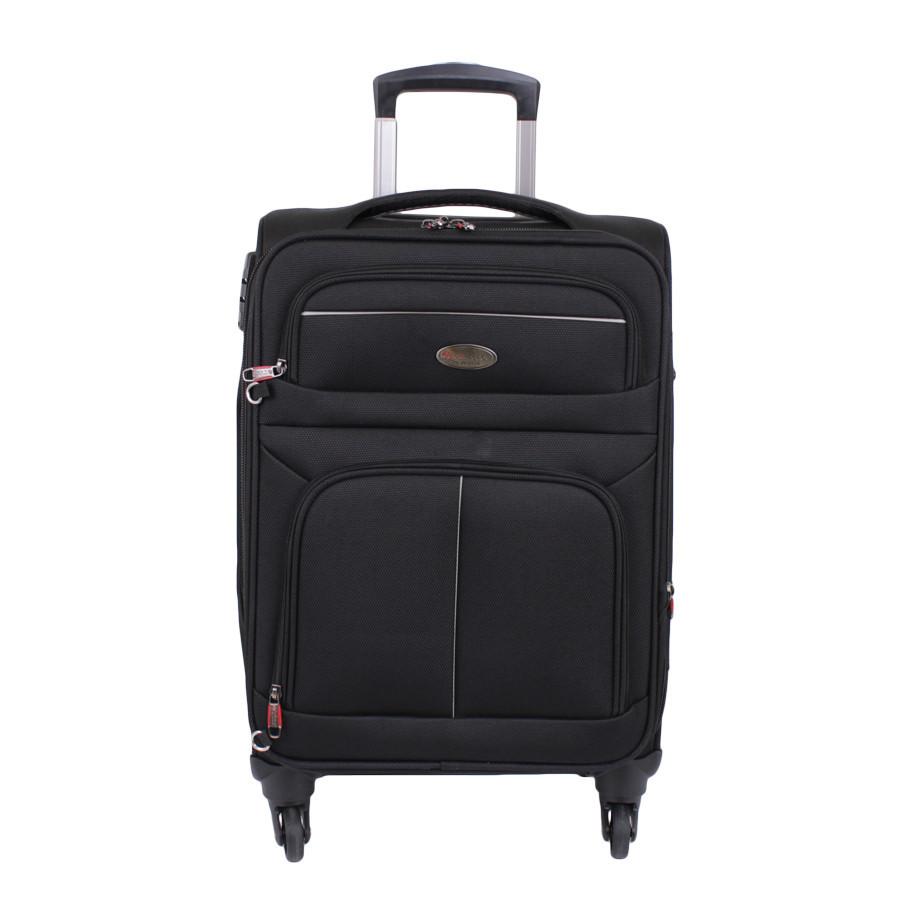 Дорожний чемодан с подкладкой на молнии