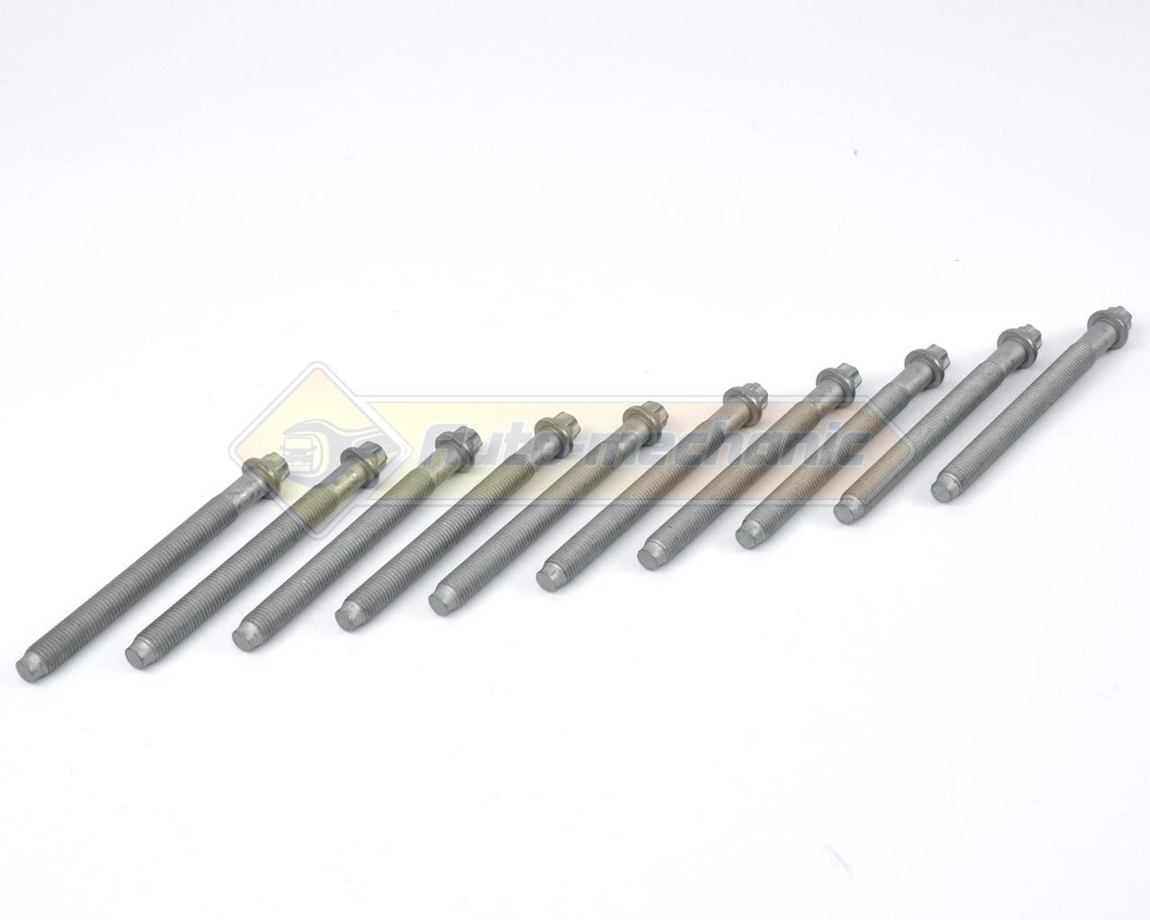 Болти головки блоку циліндрів на Renault Trafic II 01->2006, (1.9 dCi) - Victor Reinz (Німеччина) - 14-32161-01