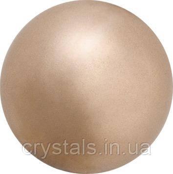 Жемчуг капли Preciosa (Чехия) 10х6 мм, Bronze