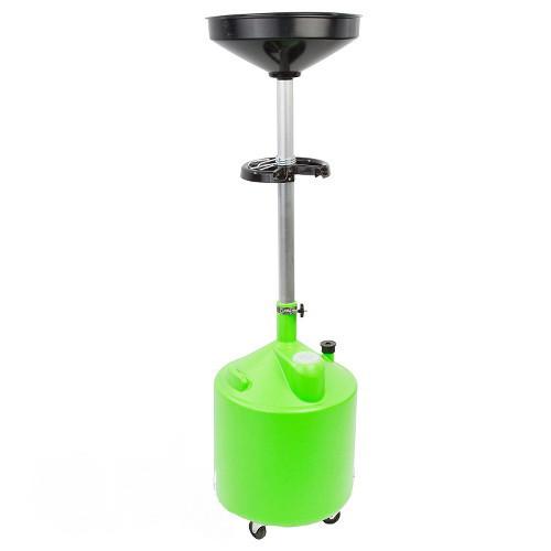 Установка для слива масла пластиковая (75 л)  G.I.KRAFT HDP-75