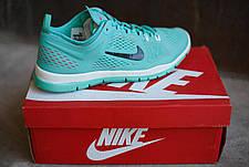 Женские кроссовки Nike.Бирюза,сетка