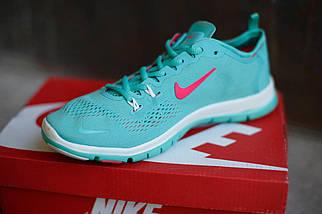 Женские кроссовки Nike.Бирюза,сетка, фото 2