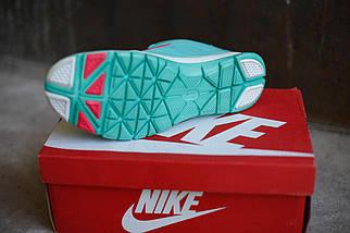 Женские кроссовки Nike.Бирюза,сетка, фото 3