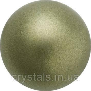 Жемчуг капли Preciosa (Чехия) 10х6 мм, Dark Green
