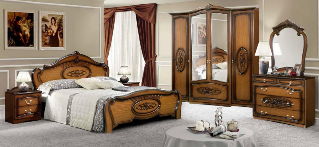 Спальня Виктория 9Д2 (Орех) (с доставкой)
