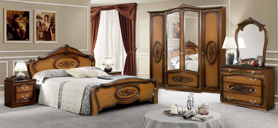 Спальня Виктория 9Д2 (Орех) (с доставкой), фото 2