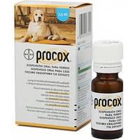 ПРОКОКС антигельментик для собак и щенков суспензия  7,5мл