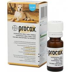 ПРОКОКС антигельментик для собак та цуценят суспензія 7,5 мл