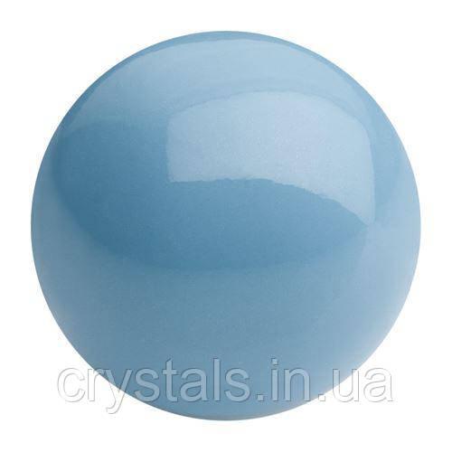 Жемчуг капли Preciosa (Чехия) 10х6 мм, Aqua Blue
