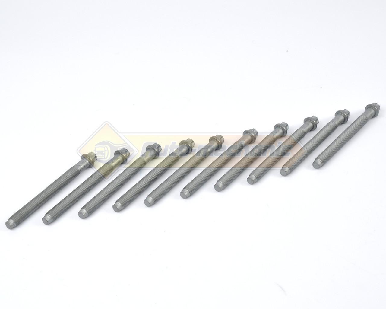 Болти головки блоку циліндрів на Renault Master II 98->2010 - Victor Reinz (Німеччина) - 14-32161-01
