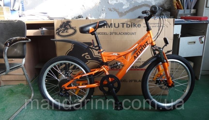 Велосипед Azimut Blackmount 20дюймов