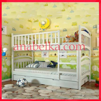 Кровать деревянная Смайл (Arbor), фото 2