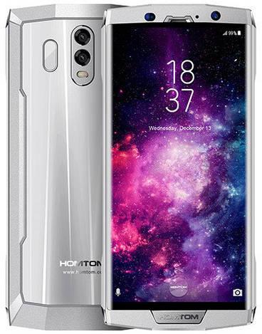 Смартфон ORIGINAL HomTom HT70 Silver (8Х1,5Ghz; 4GB/64GB; 16MP+5MP/13MP; 10000 mAh)