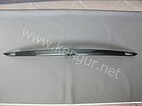 Карбоновая накладка на крышку багажника Tesla Model S