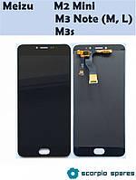 Модуль для Meizu M3 Note (L681H) (Дисплей + Тачскрин), Черный