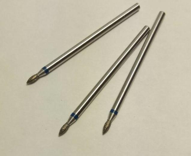 Фреза КУЛЯ 1.8 мм з синьою смужкою. ОПТ І РОЗДРІБ!