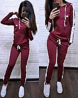 Модный спортивный костюм, кофта с капюшоном и штаны, размеры от 42 до 52 Турция