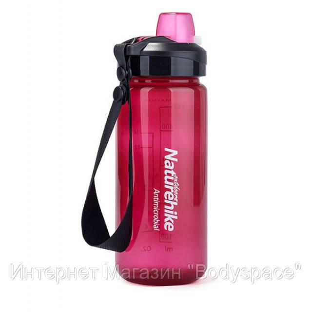 Naturehike, спортивная бутылка Naturehike Bicycle Bottle 500 мл, Pink