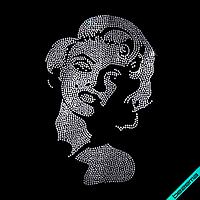 Термопринт на кашемир Мэрилин Монро (Стекло, 2мм-бел.), фото 1
