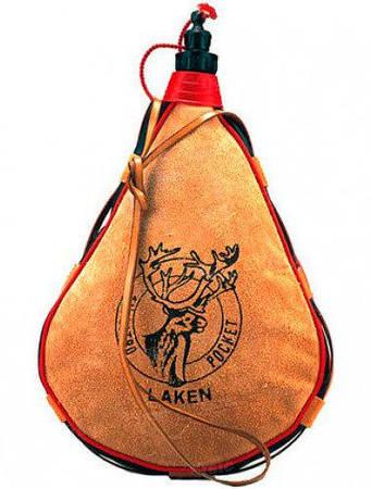 Фляга Laken straight form 2.0 L. кожа (PK2000-R)
