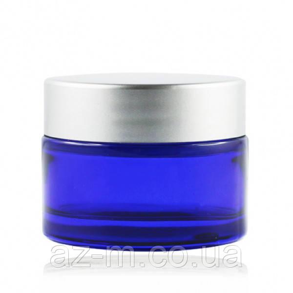 Баночка синяя (стекло) 30 мл