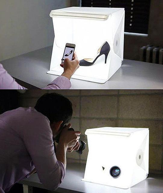 Лайткубы, фотобоксы, наборы для предметной фотосъемки