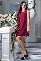 Сукня бордо Вишна, фото 1
