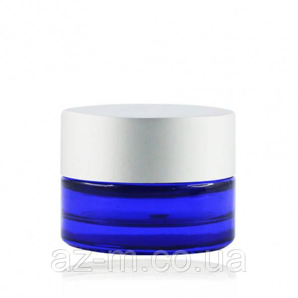 Баночка синяя (стекло) 5 мл