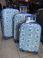 Комплект из 3 чемоданов Ambassador Retro ZT-92, фото 1