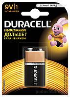 Батарейка Duracell Basic 9V алкалиновая 9V 6LR61 (1 шт.)