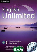 Алекс Тилбэри English Unlimited Pre-intermediate Coursebook (With e-Portfolio DVD-Rom)