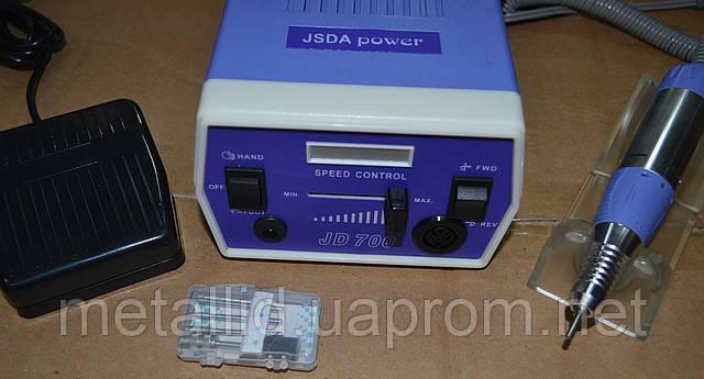 Фрезер для маникюра Electric Drill JD-700 оригинал