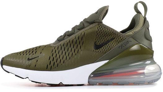 """Женские кроссовки Nike Air Max 270 """"Medium Olive / Black"""" (Найк Аир Макс) разноцветные"""