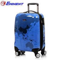Великий синій валізу Eminent, фото 1