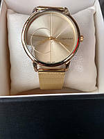 Женские наручные металлические часы CK Calvin Klein кельвин кляйн, фото 1
