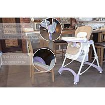 Детский стульчик для кормления CARRELLO Caramel CRL-9501/3 Mirage Grey, фото 2