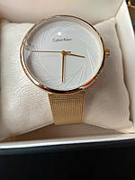 Жіночі наручні металеві годинник CK Calvin Klein кельвін кляйн