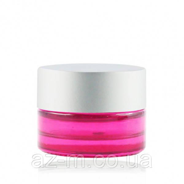 Баночка розовая (стекло) 5 мл