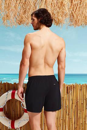 Черные мужские пляжные шорты  Doreanse 3800, фото 2