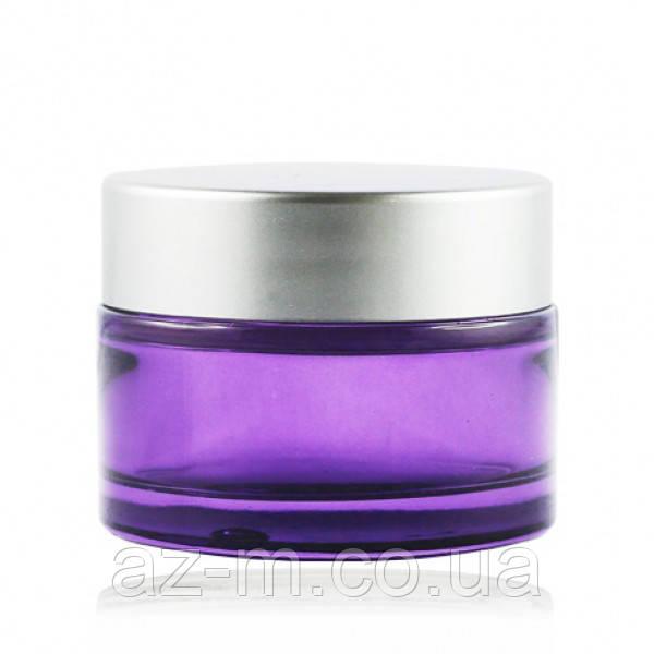 Баночка фиолетовая (стекло) 30 мл