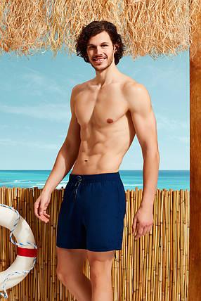 Синие мужские пляжные шорты  Doreanse 3800-1, фото 2